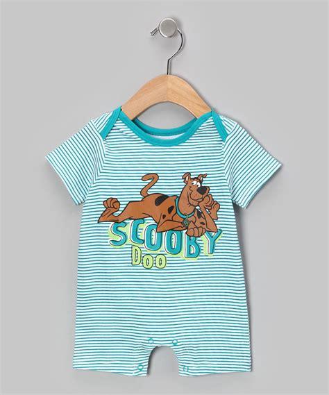 Scooby Doo Romper Costume teal stripe scooby doo romper infant future grandbaby