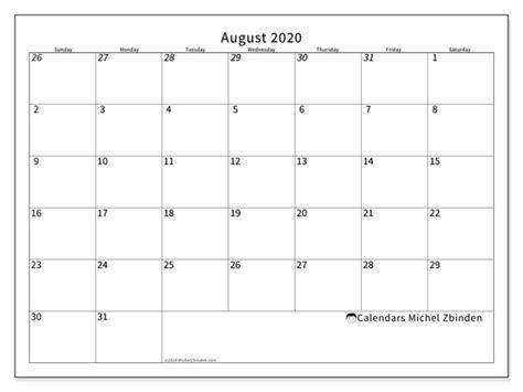 august  calendars ss michel zbinden en