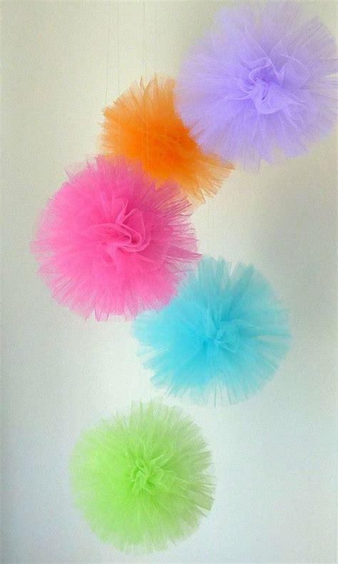 How Do You Make Tissue Paper Balls - how to make a tulle pom pom my pony wedding