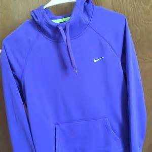 Hoodie Sweater Nike Original Size M Thermafit 38 nike sweaters womens purple nike thermafit