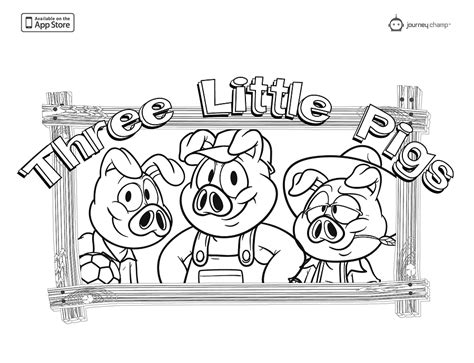 printable coloring pages three little pigs three little pigs coloring page coloring home
