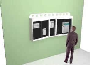 design papan mading papan pengumuman terbaru unik bulletin bilboard
