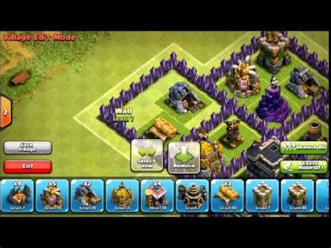 th8 layout after update clash of clans th8 clan wars base after update spider