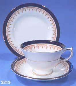 aynsley leighton bone china tea trio pattern 1646 sold