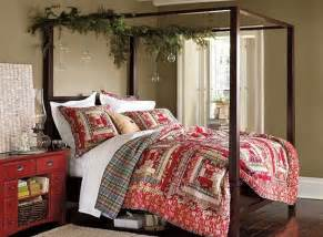 Bedroom Decorating Ideas Quilt Bed Set Iroonie