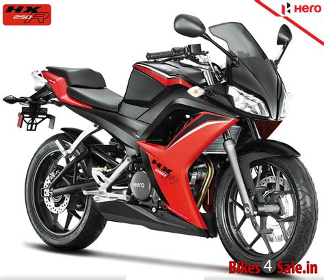 hero cbr price hero hx250r motorcycle picture gallery in black and red