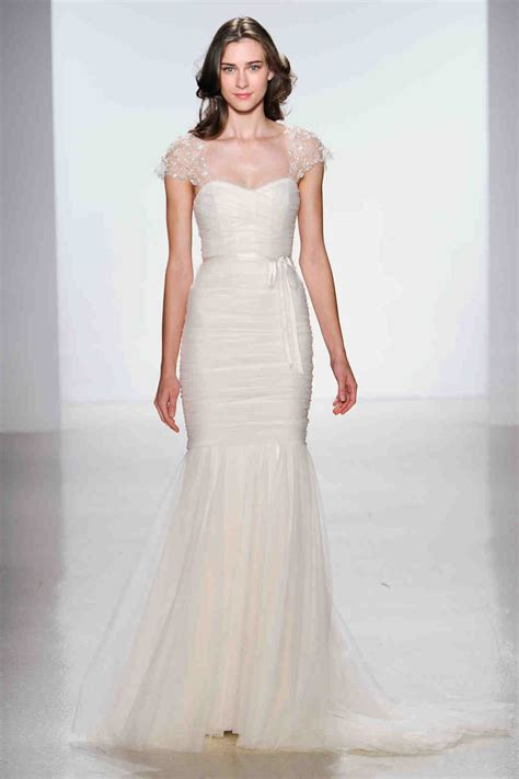 Wedding Dresses With Cap Sleeves by Cap Sleeve Wedding Dresses 2014 Martha Stewart