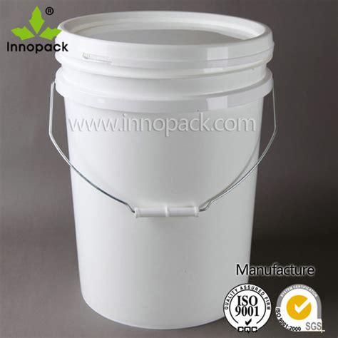 Ember Pail 1 25 Gallons white plastic pail plastic drum plastic barrels 20