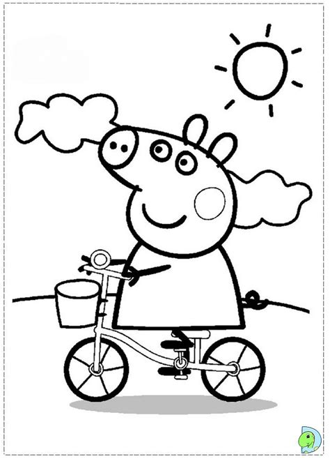 coloring page of peppa pig free coloring pages of peppa pig fairy