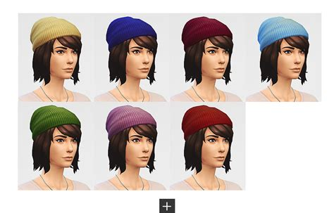 sims 3 basegame clothes and hair my sims 4 blog base game compatible beanies and recolors