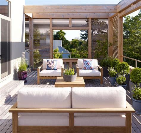 pergola balkon balkon sichtschutz aus holz 50 ideen f 252 r balkongestaltung