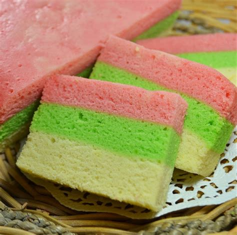 cara membuat strawberry cheese cake kukus steamed rainbow cake cindychn