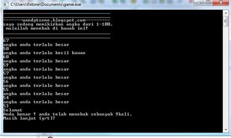 membuat game bahasa c fixtone membuat game sederhana dev c