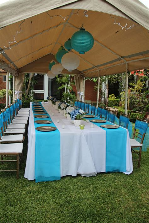 outdoor party ideas cheap baby shower chair decorating ideas outdoor party