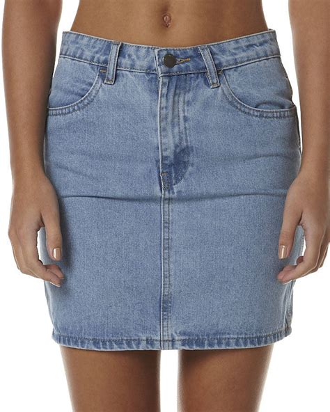a tight denim skirt on the hunt