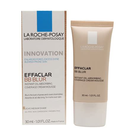 La Pro Bb Light Medium 1 la roche posay effaclar bb blur light medium walgreens
