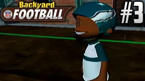 backyard football gameplay backyard football gamecube season mode ep3 ricky can t