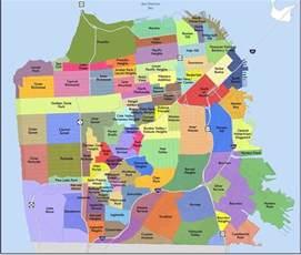 Map Of San Francisco Districts by Sf Neighborhoods Ucsf Neurology Residency Program