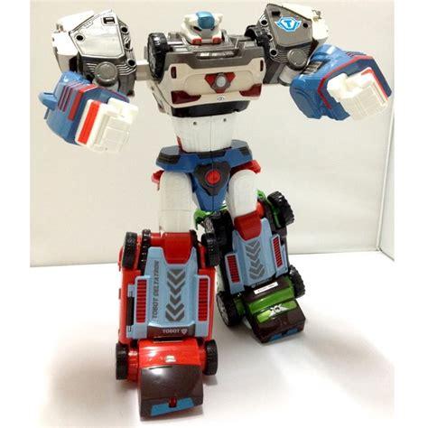 Tobot Y Original Figures tobot deltatron transformer robot 3 cars x y z