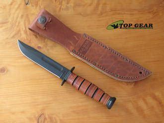 Ka Bar Short Clip Point Fighting Knife Straight Edge 1251