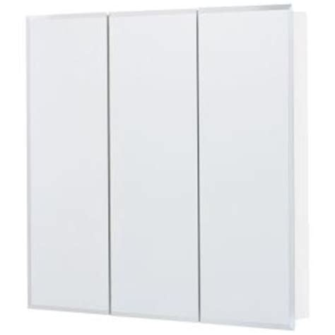 glacier bay 30 in x 29 in frameless surface mount tri