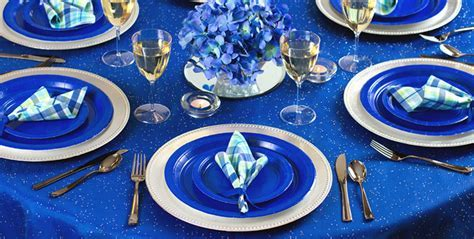 Solid Royal Blue Tableware #2