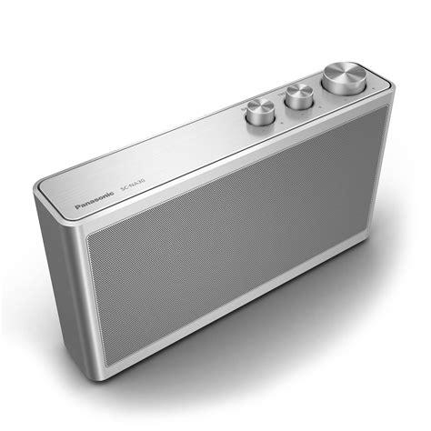 Speaker Bluetooth Panasonic panasonic bluetooth 2 1 channel portable speaker sc na30 b h