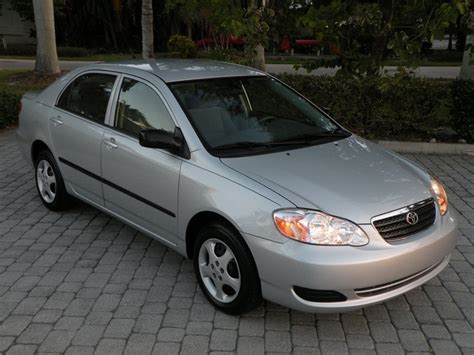 2008 Toyota Corolla Ce 2008 Toyota Corolla Ce Fort Myers Florida For Sale In Fort