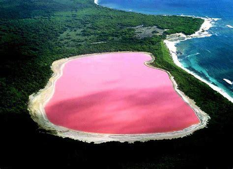 pink lake australia the pink lake hillier hiking on the moon