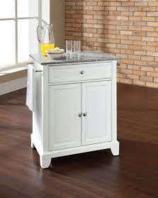 Kitchen Island Portable by Crosley Furniture Newport Solid Granite Top Portable