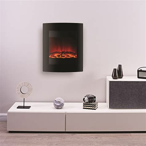 hang on wall fireplace ekofires 1011 hang on the wall electric fireplaces are us