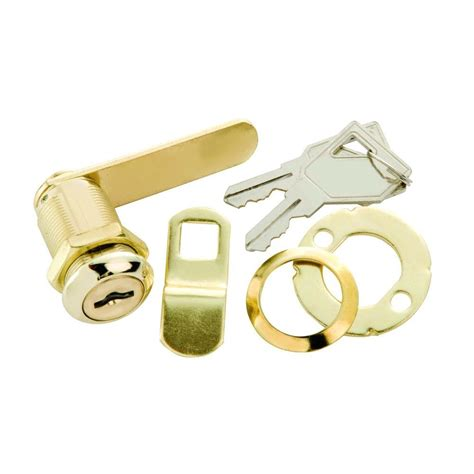 cabinet keyed cam lock prime line 7 8 in chrome and cabinet keyed cam
