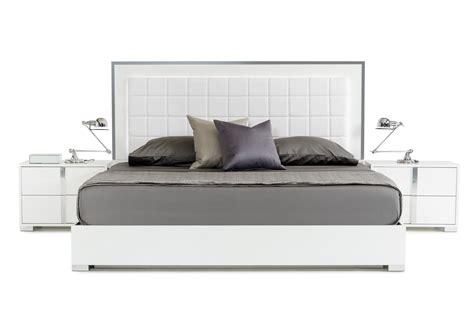 san marino bedroom set modrest san marino modern white bedroom set
