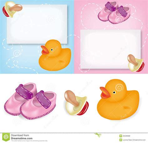 clipart nascita cartoline d auguri per la nascita illustrazione vettoriale
