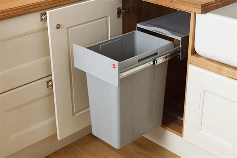 kitchen cabinet bin our new easy cargo waste bins are ideal for oak kitchens