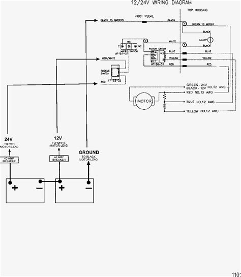 a 24 volt trolling motor wiring diagram wiring diagrams
