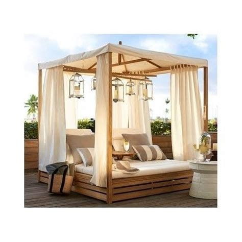 outdoor patio lounge daybed outdoor patio chaise daybed canopy lounge chair teak wood