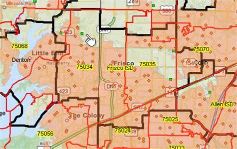 frisco texas zip code map zip code rural demographic patterns proximityone