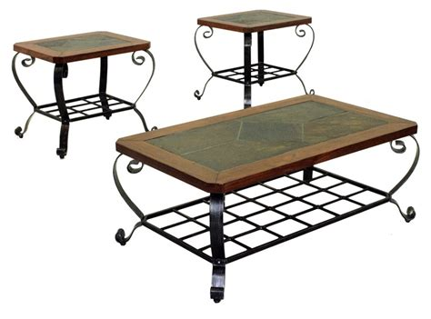 slate top coffee table sets slate coffee table design images photos pictures