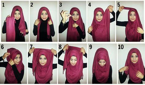 tutorial pashmina arab how to wear modern hijab styles google search dresses