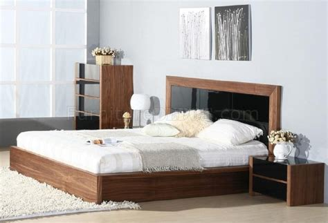 stark bedroom by beverly furniture in walnut black