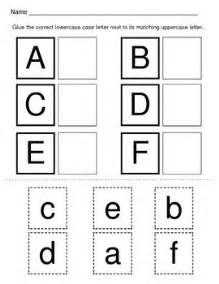 alphabet recognition uppercase and lowercase alphabet