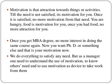 Temple Mba Application Requirements by Motivational Theories And Their Application On Students