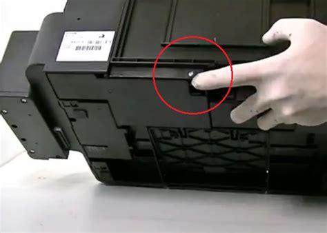 reset cartucho l355 como resetear sistema de tinta continua en impresoras