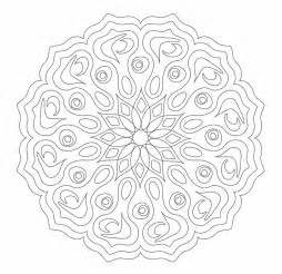 complex mandala colouring pages