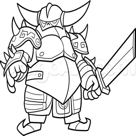 N Drawings Color by Clash Clans How To Draw Royale Coloring Pages