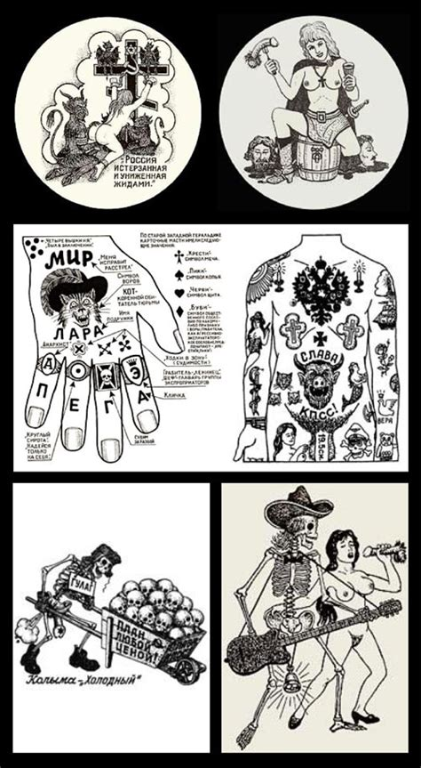 russian tattoo meanings russian prison tattoos dblcliq
