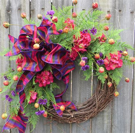 Springtime Wreaths wreath summer and springtime wreath spring wreath with