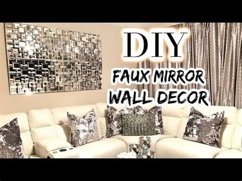 436399 best quot diy home decor ideas quot images on pinterest diy quot z gallerie axis mirror quot inspired glam wall decor