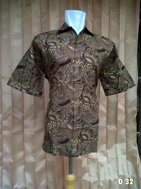 Blouse Kemeja Tunic Kancing Atas Kombinasi Motif Berkualitas hem batik semi tulis pusat grosir batik pekalongan